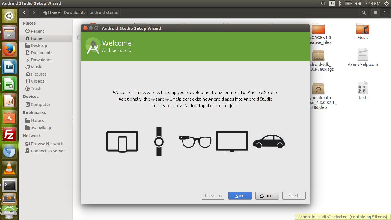 step to install android studio in ubuntu using terminal tutsway